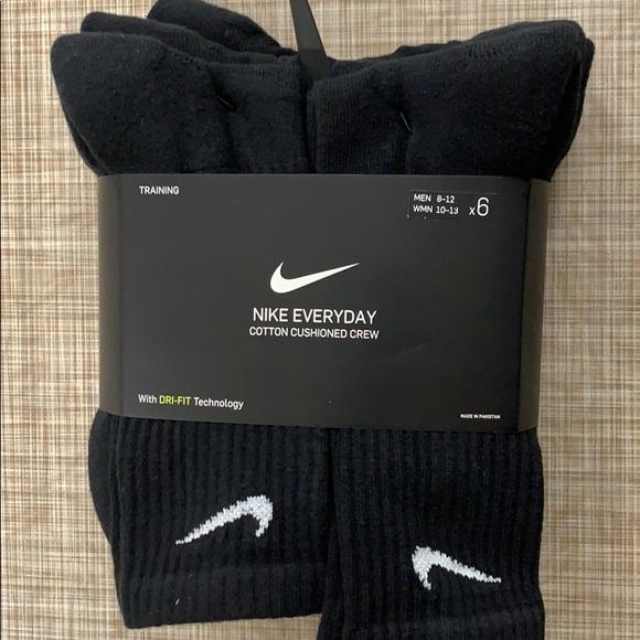 Nike Crew Socks 6 pack (ORIGINAL PACKAGING)